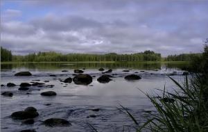 Озёрная рыбалка в Финляндии